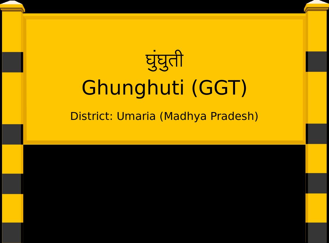Ghunghuti (GGT) Railway Station