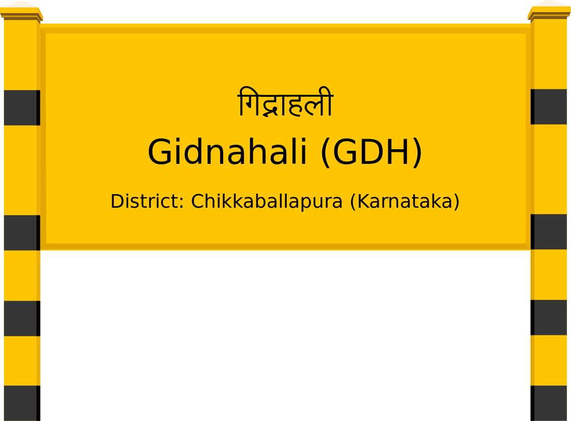 Gidnahali (GDH) Railway Station