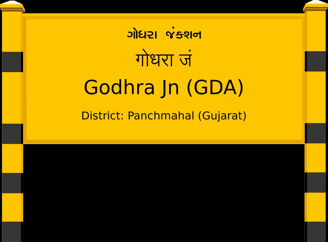 Godhra Jn (GDA) Railway Station