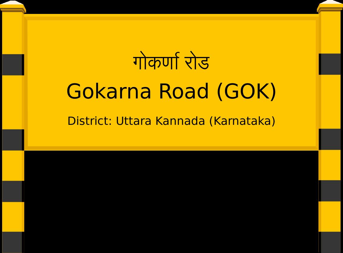 Gokarna Road (GOK) Railway Station