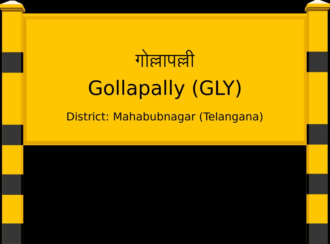 Gollapally (GLY) Railway Station