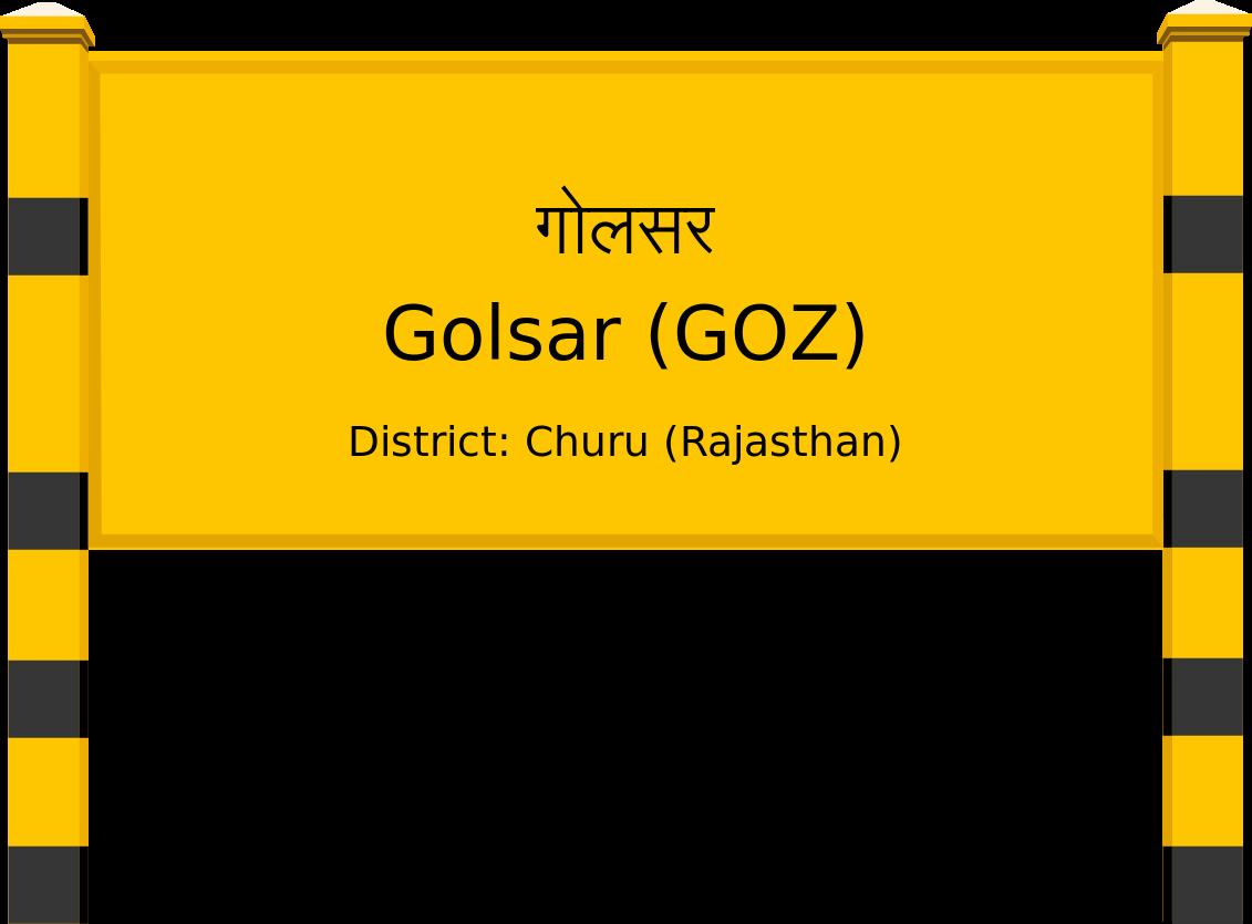 Golsar (GOZ) Railway Station