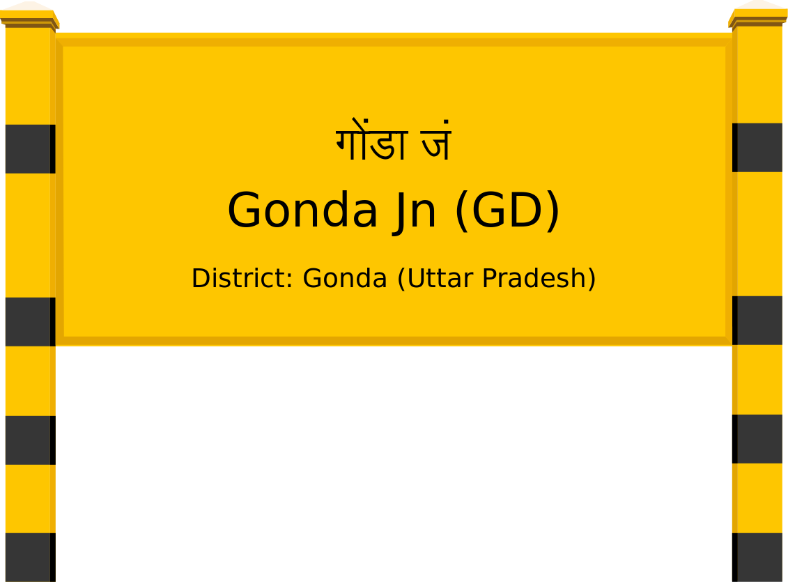 Gonda Jn (GD) Railway Station