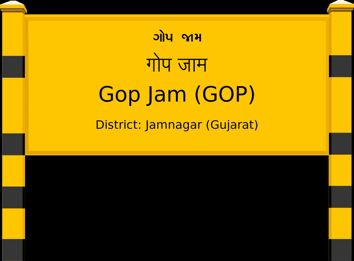 Gop Jam (GOP) Railway Station