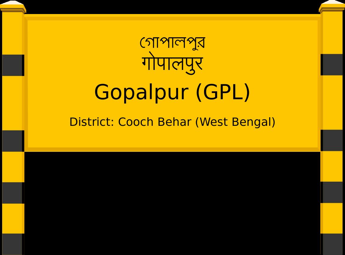 Gopalpur (GPL) Railway Station