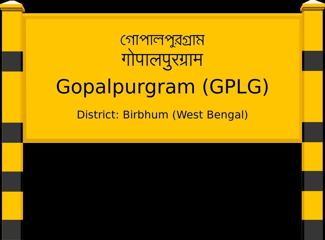 Gopalpurgram (GPLG) Railway Station