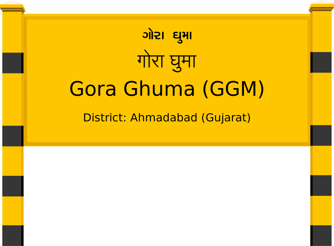 Gora Ghuma (GGM) Railway Station