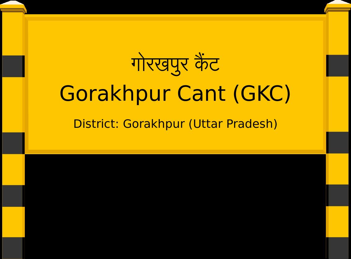 Gorakhpur Cant (GKC) Railway Station