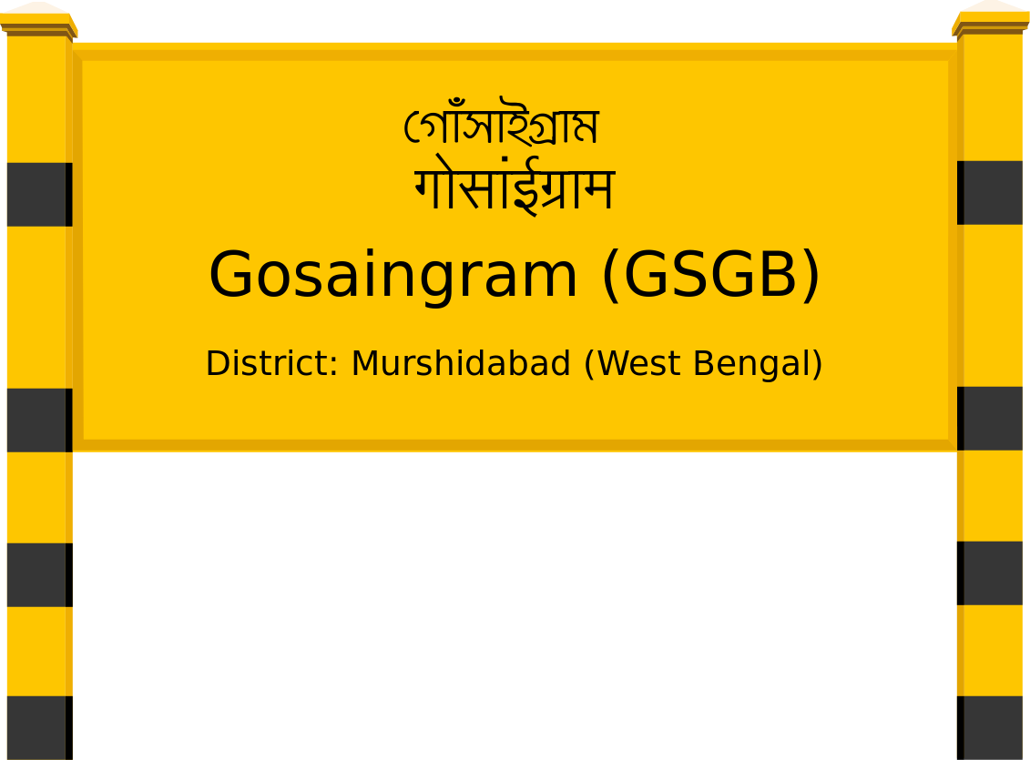 Gosaingram (GSGB) Railway Station