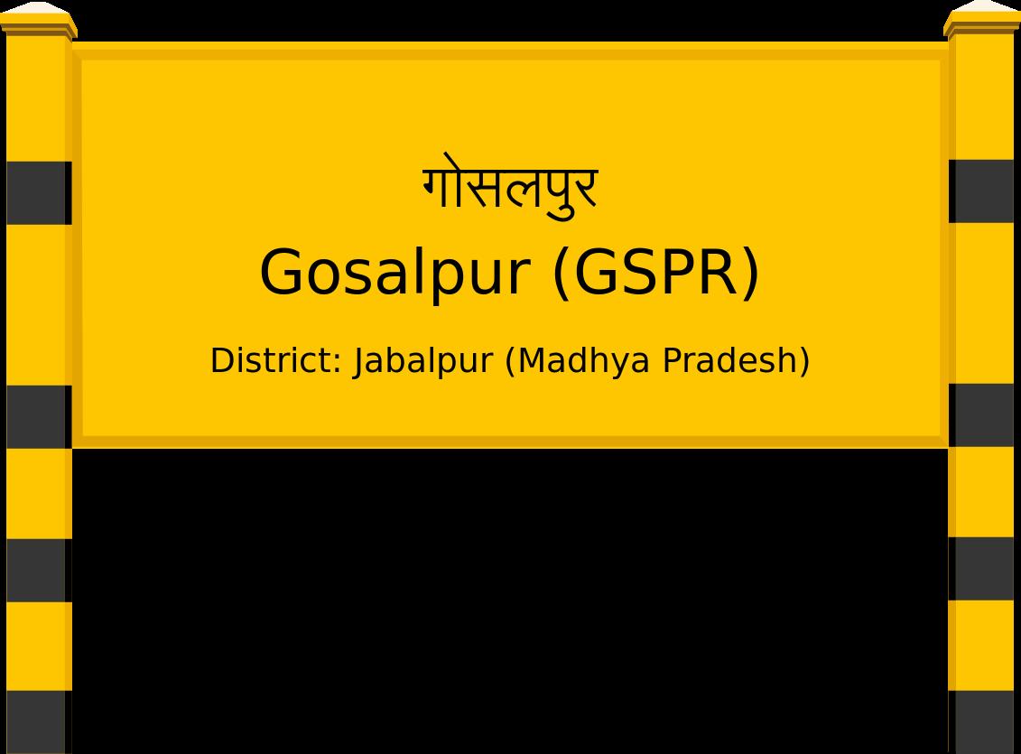 Gosalpur (GSPR) Railway Station