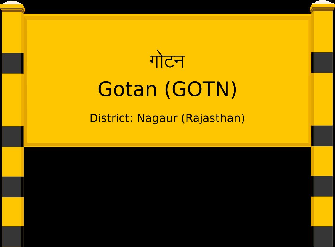 Gotan (GOTN) Railway Station
