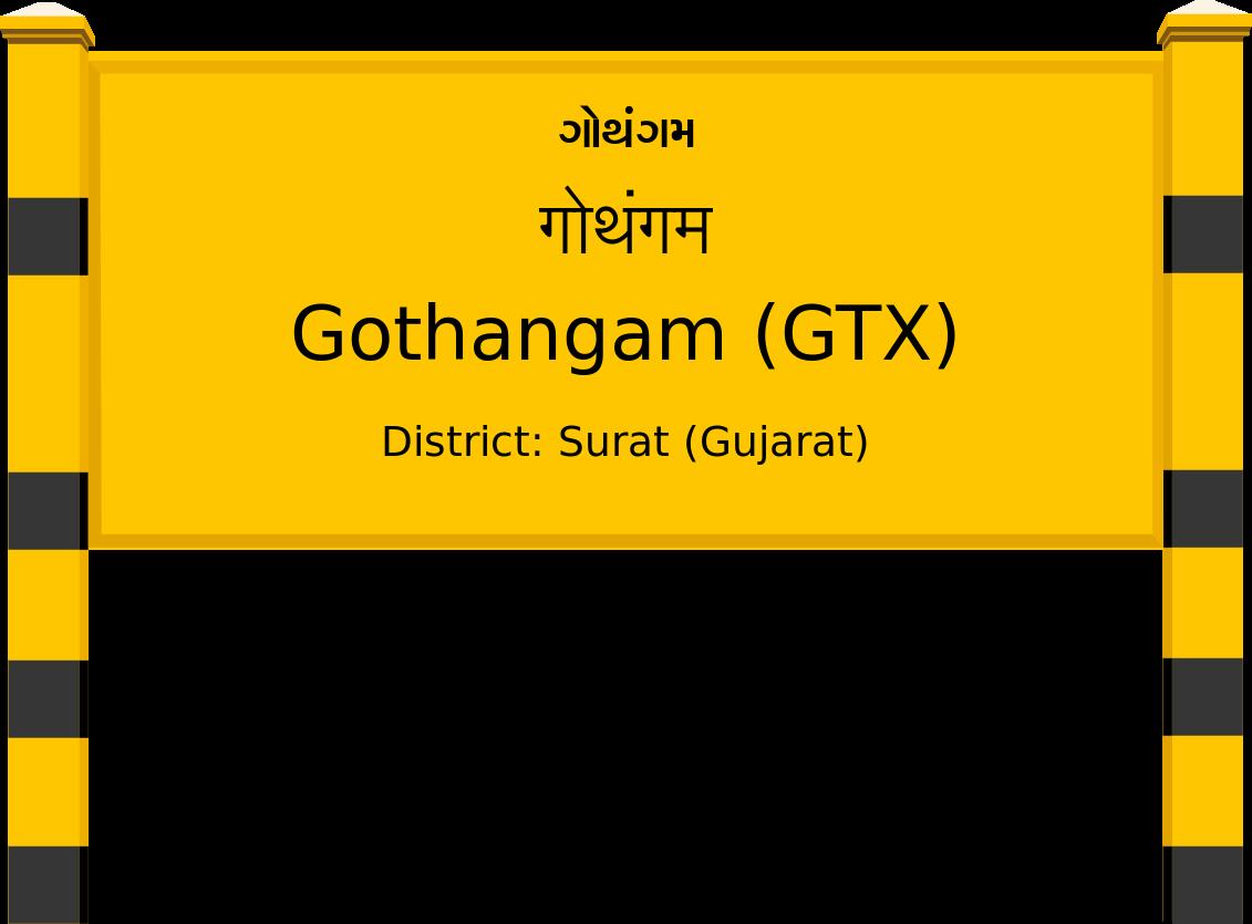 Gothangam (GTX) Railway Station