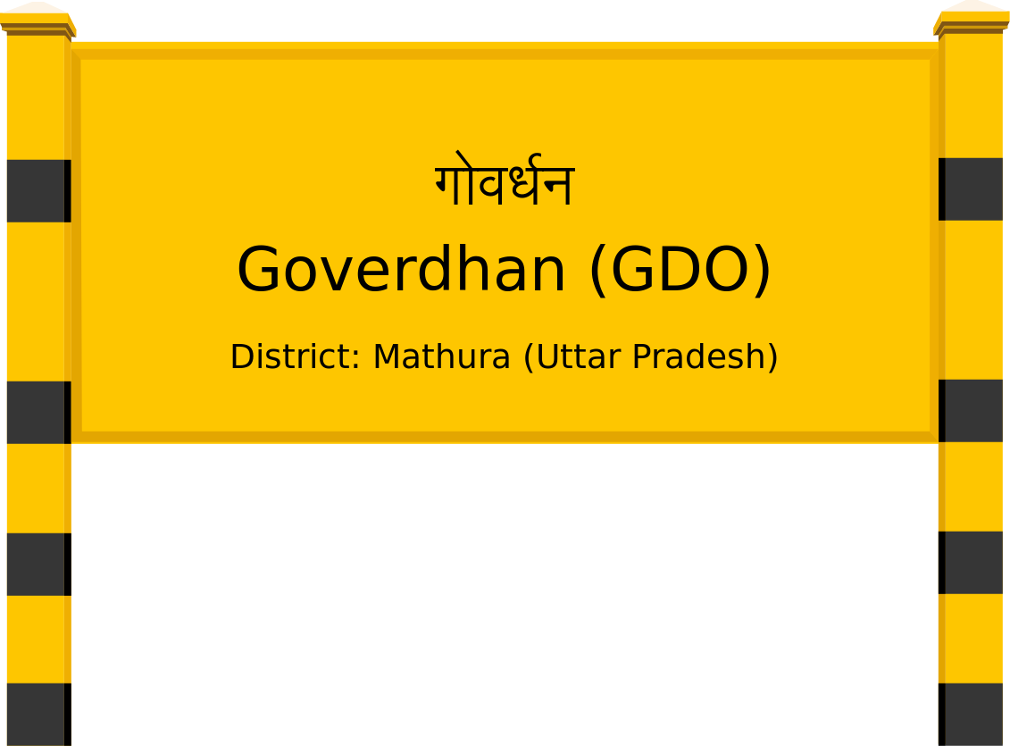 Goverdhan (GDO) Railway Station