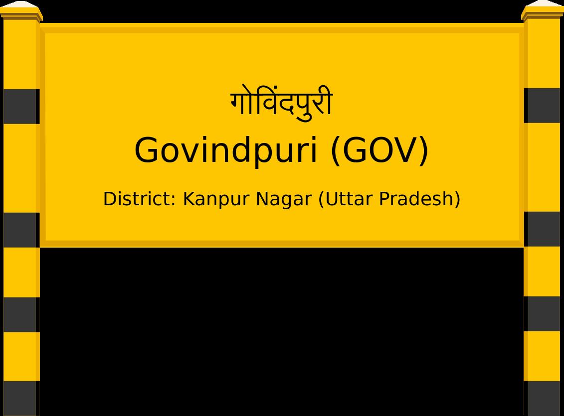 Govindpuri (GOV) Railway Station