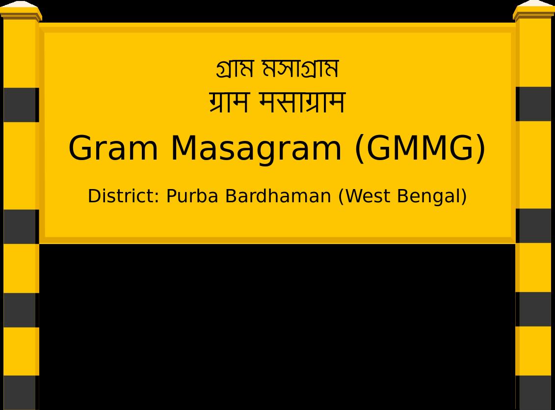 Gram Masagram (GMMG) Railway Station
