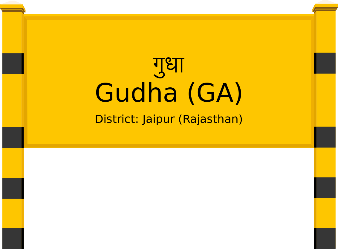 Gudha (GA) Railway Station