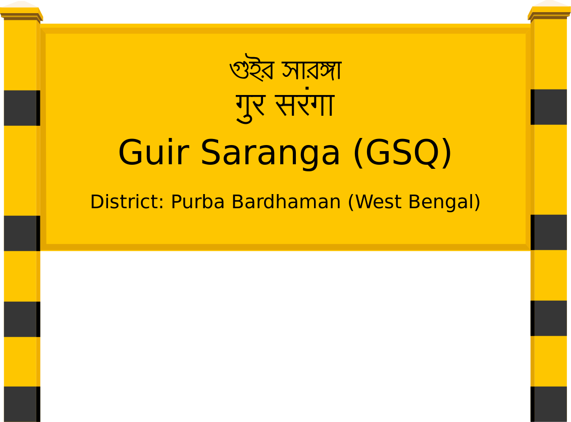 Guir Saranga (GSQ) Railway Station