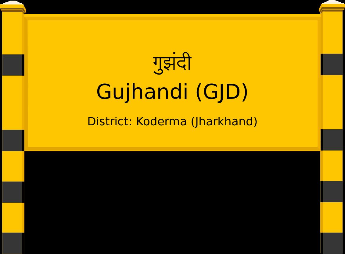 Gujhandi (GJD) Railway Station