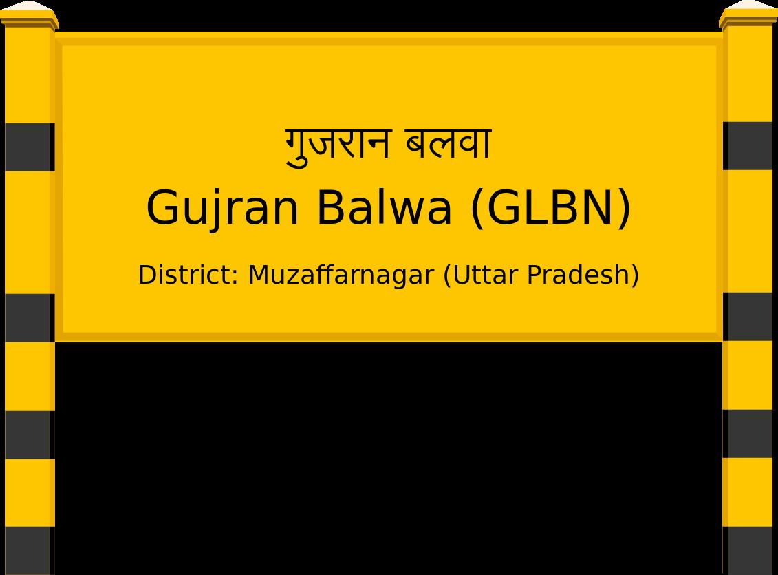 Gujran Balwa (GLBN) Railway Station