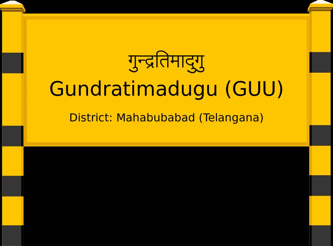 Gundratimadugu (GUU) Railway Station