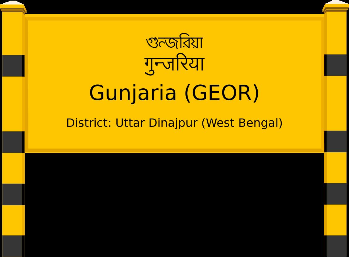 Gunjaria (GEOR) Railway Station