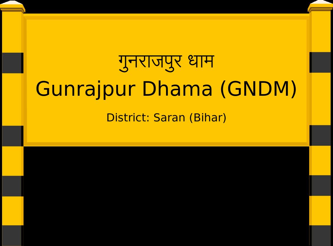 Gunrajpur Dhama (GNDM) Railway Station