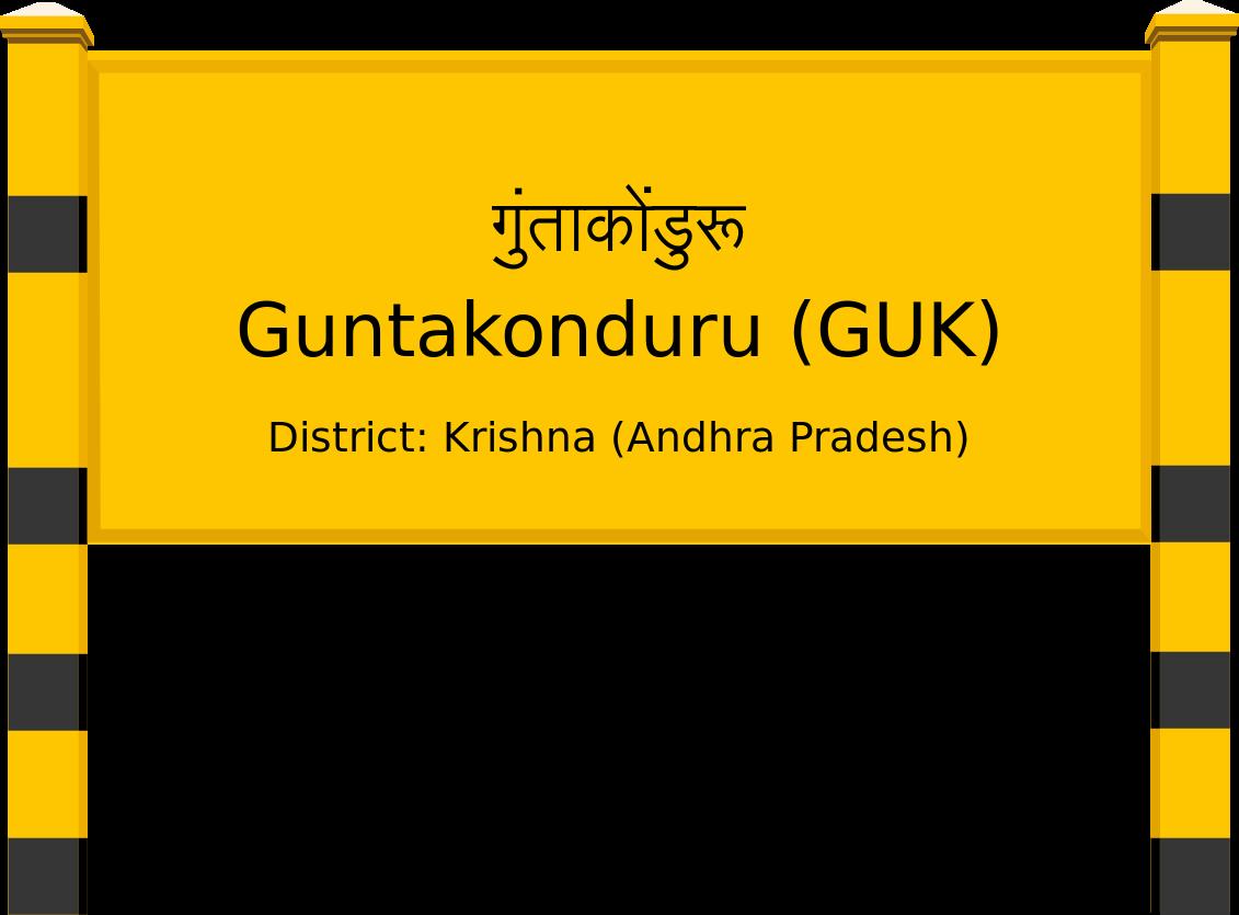 Guntakonduru (GUK) Railway Station