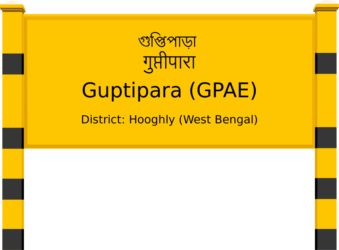 Guptipara (GPAE) Railway Station