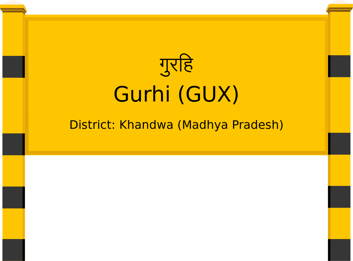 Gurhi (GUX) Railway Station