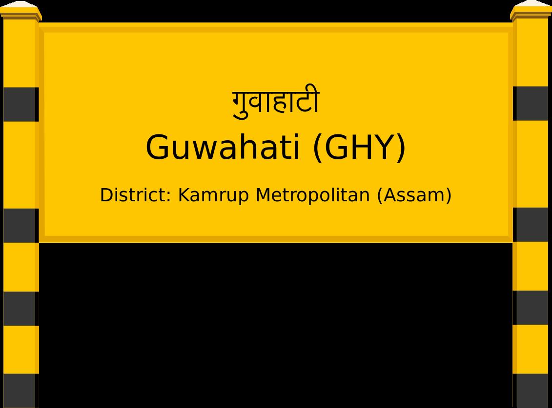 Guwahati (GHY) Railway Station