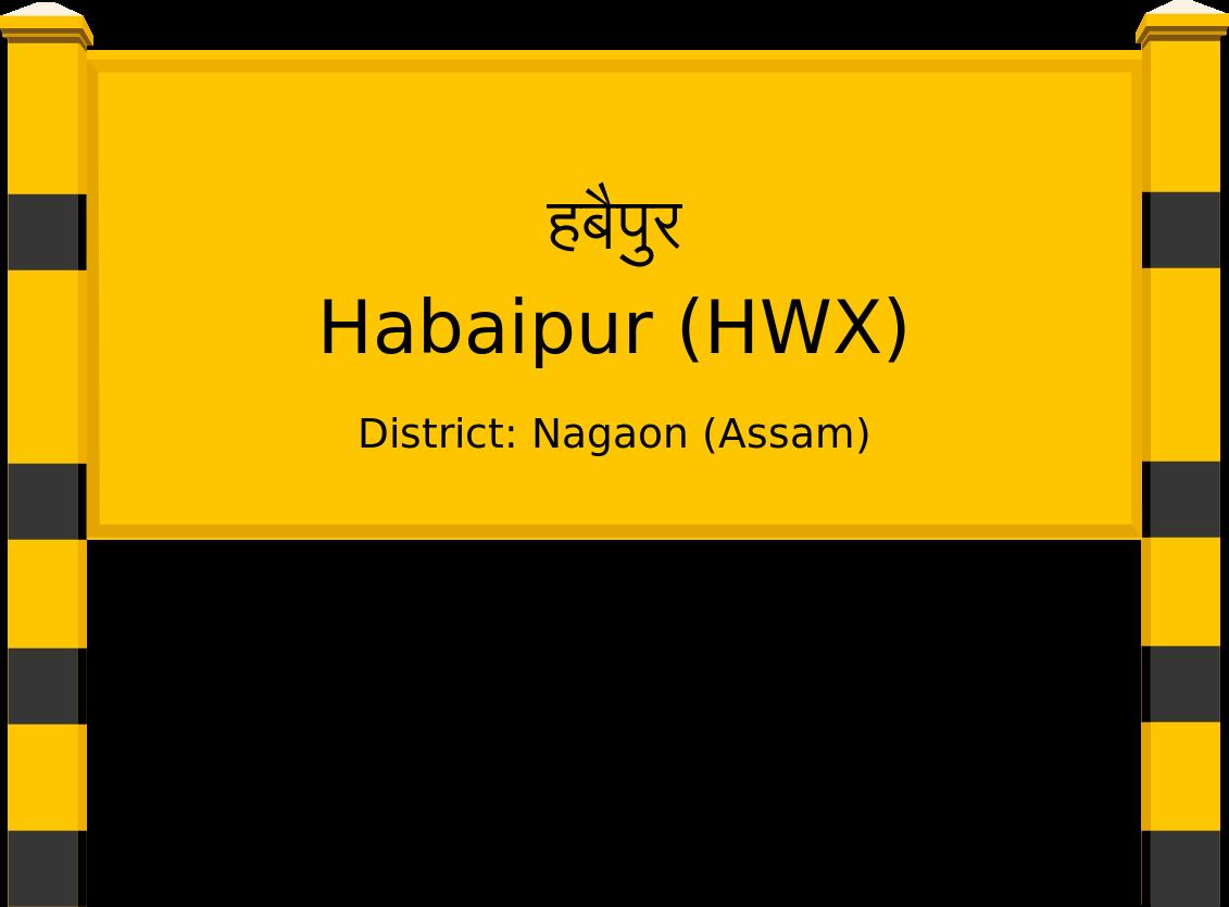 Habaipur (HWX) Railway Station