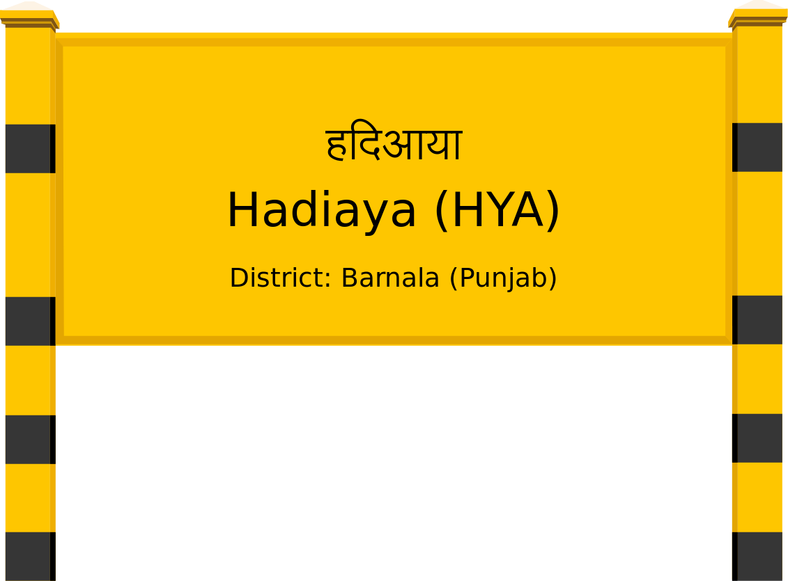 Hadiaya (HYA) Railway Station