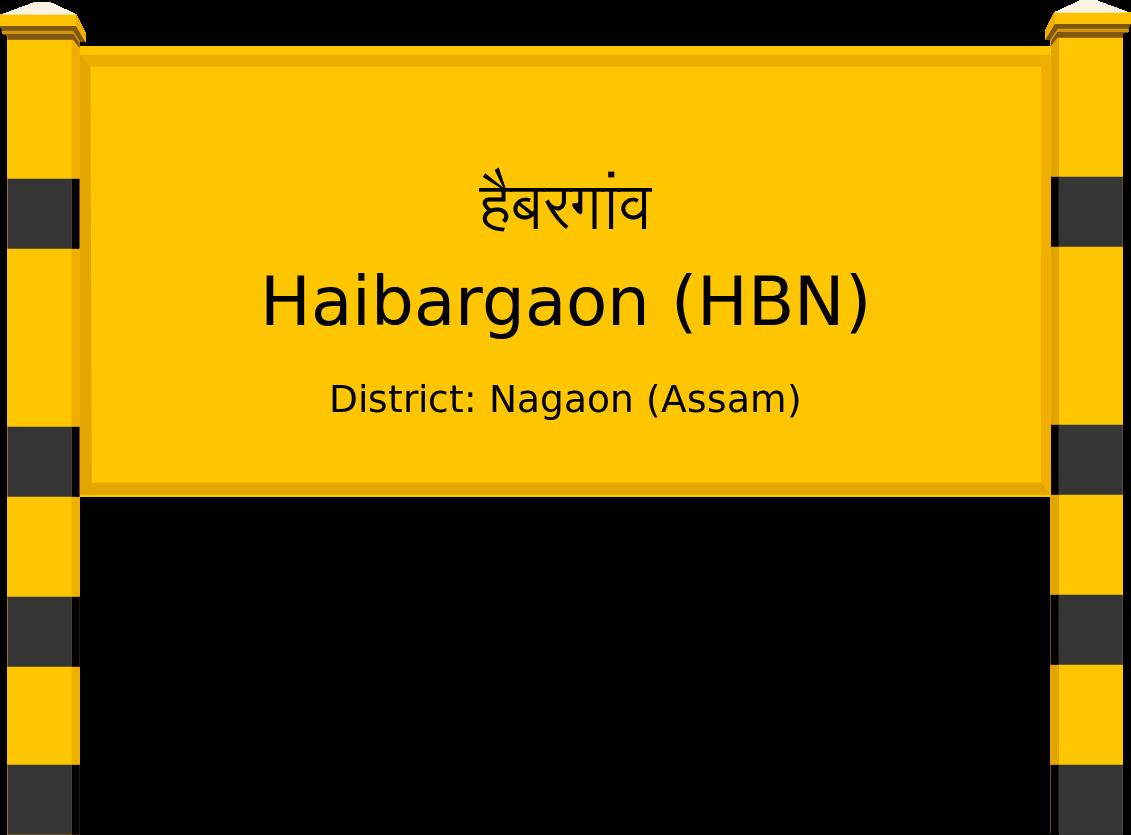 Haibargaon (HBN) Railway Station