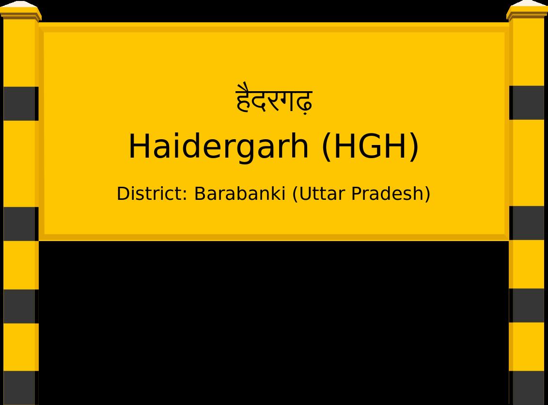 Haidergarh (HGH) Railway Station