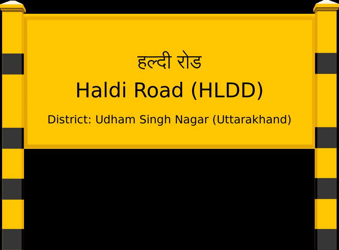 Haldi Road (HLDD) Railway Station