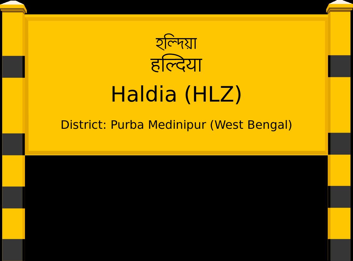 Haldia (HLZ) Railway Station