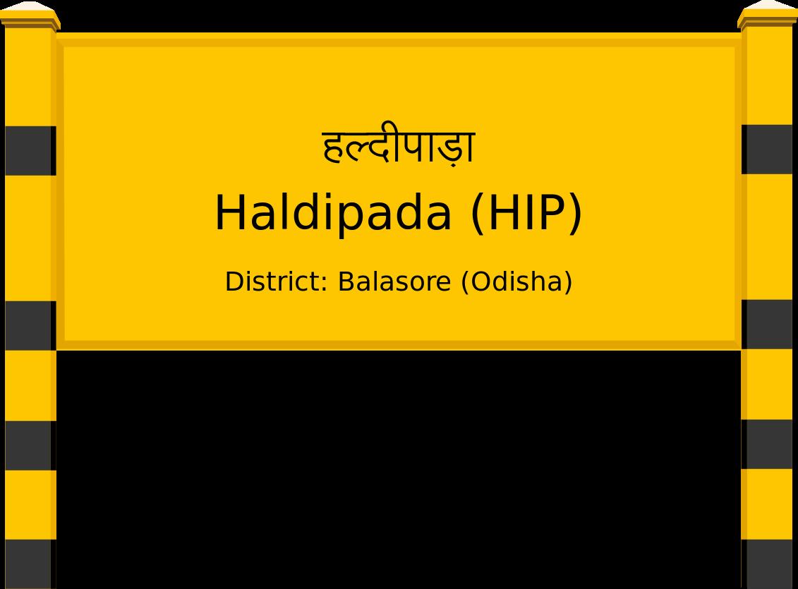 Haldipada (HIP) Railway Station