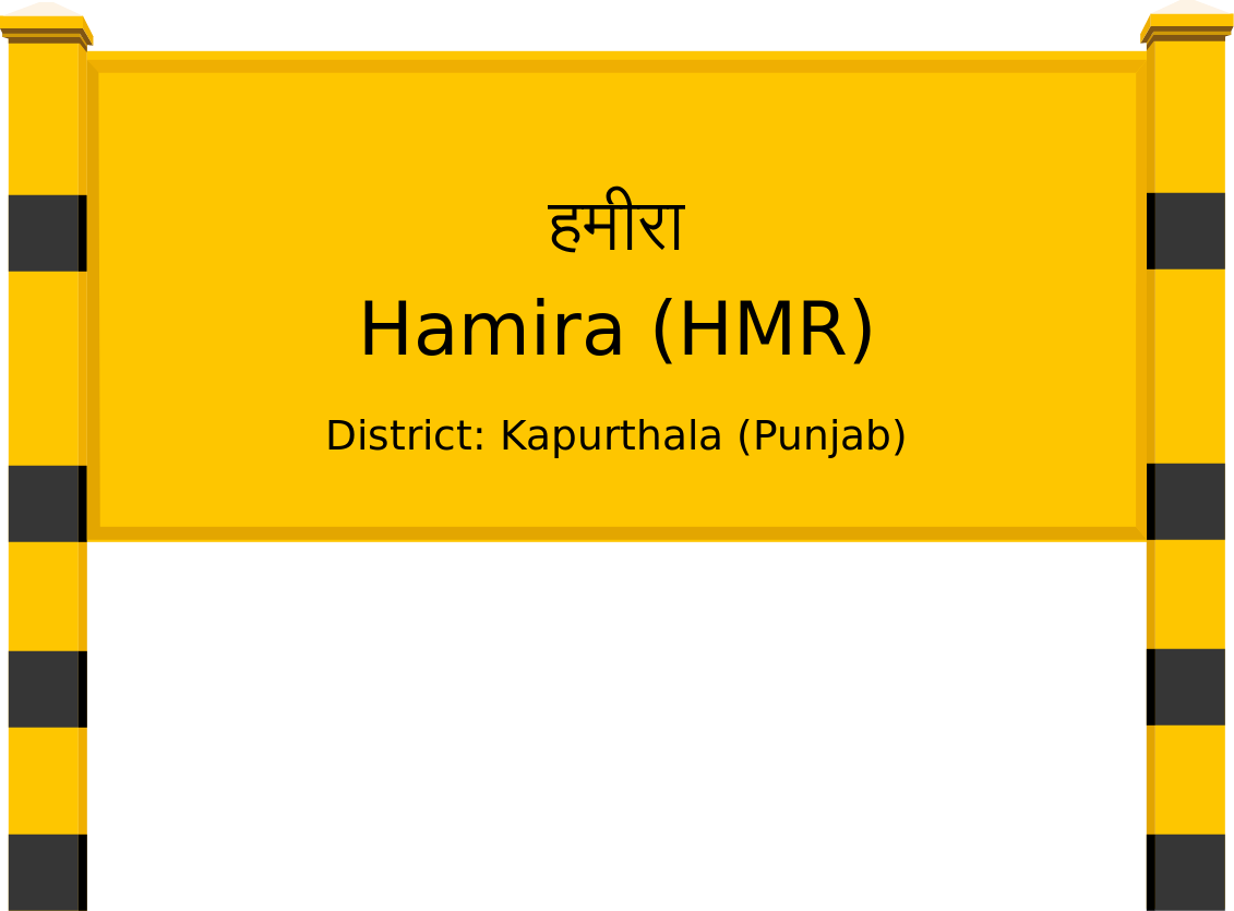 Hamira (HMR) Railway Station