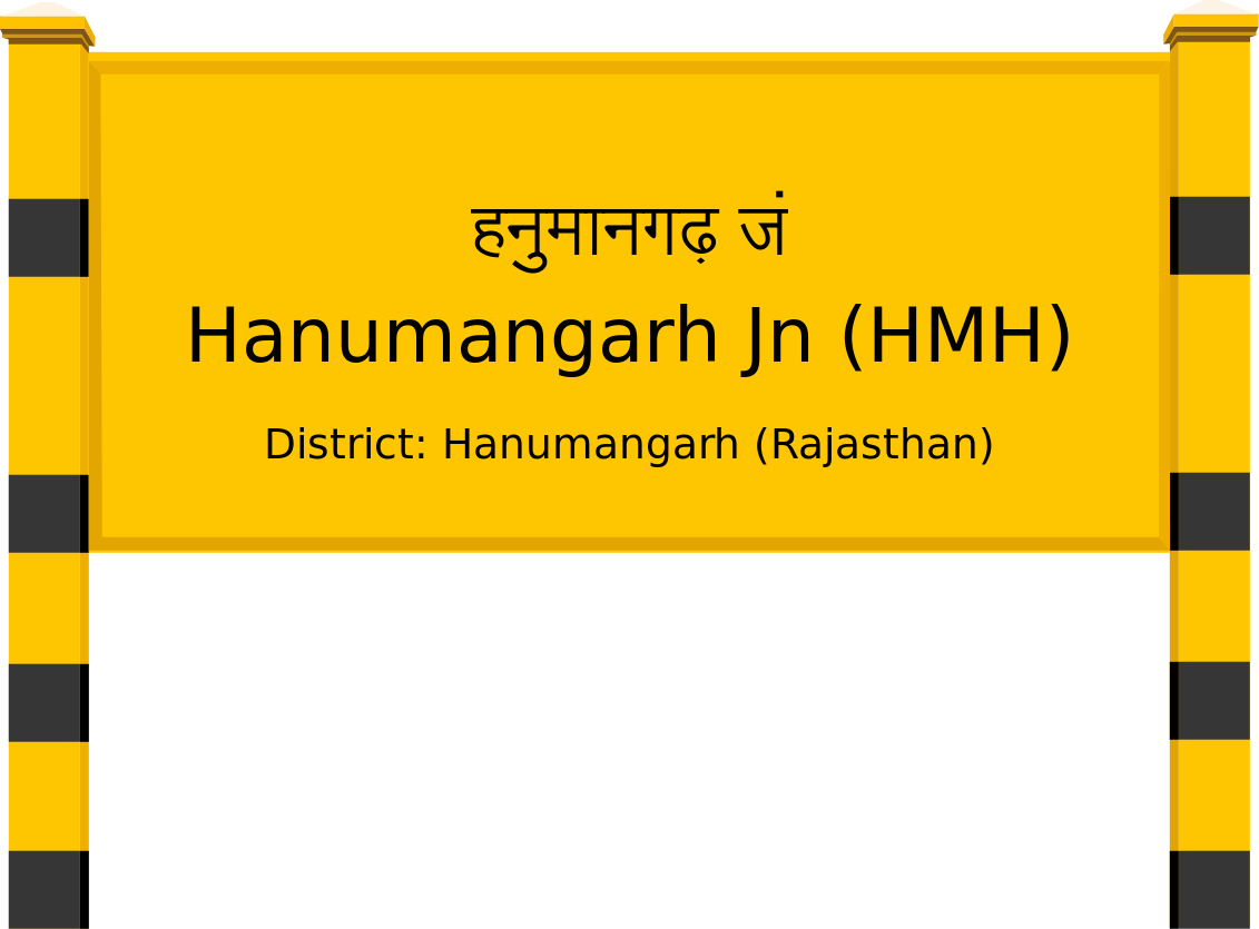 Hanumangarh Jn (HMH) Railway Station