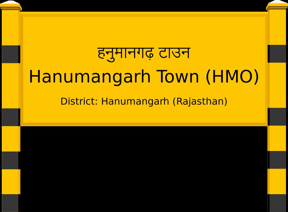 Hanumangarh Town (HMO) Railway Station