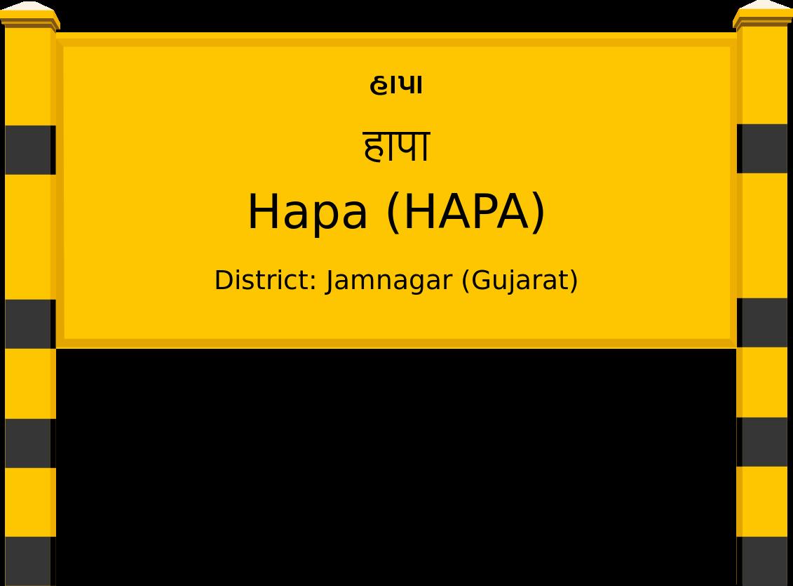 Hapa (HAPA) Railway Station