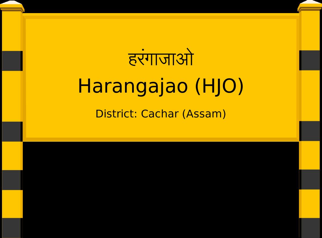 Harangajao (HJO) Railway Station