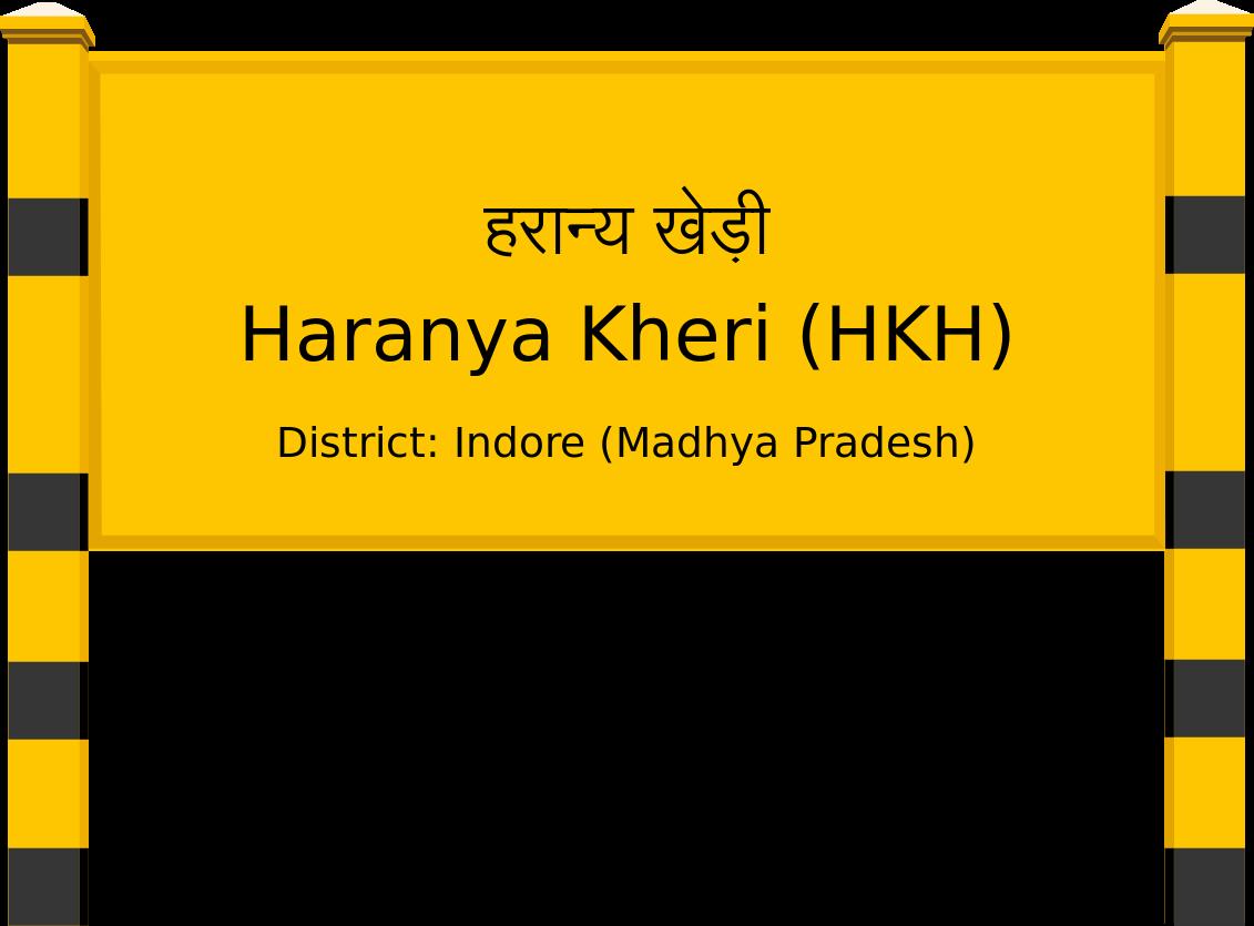 Haranya Kheri (HKH) Railway Station