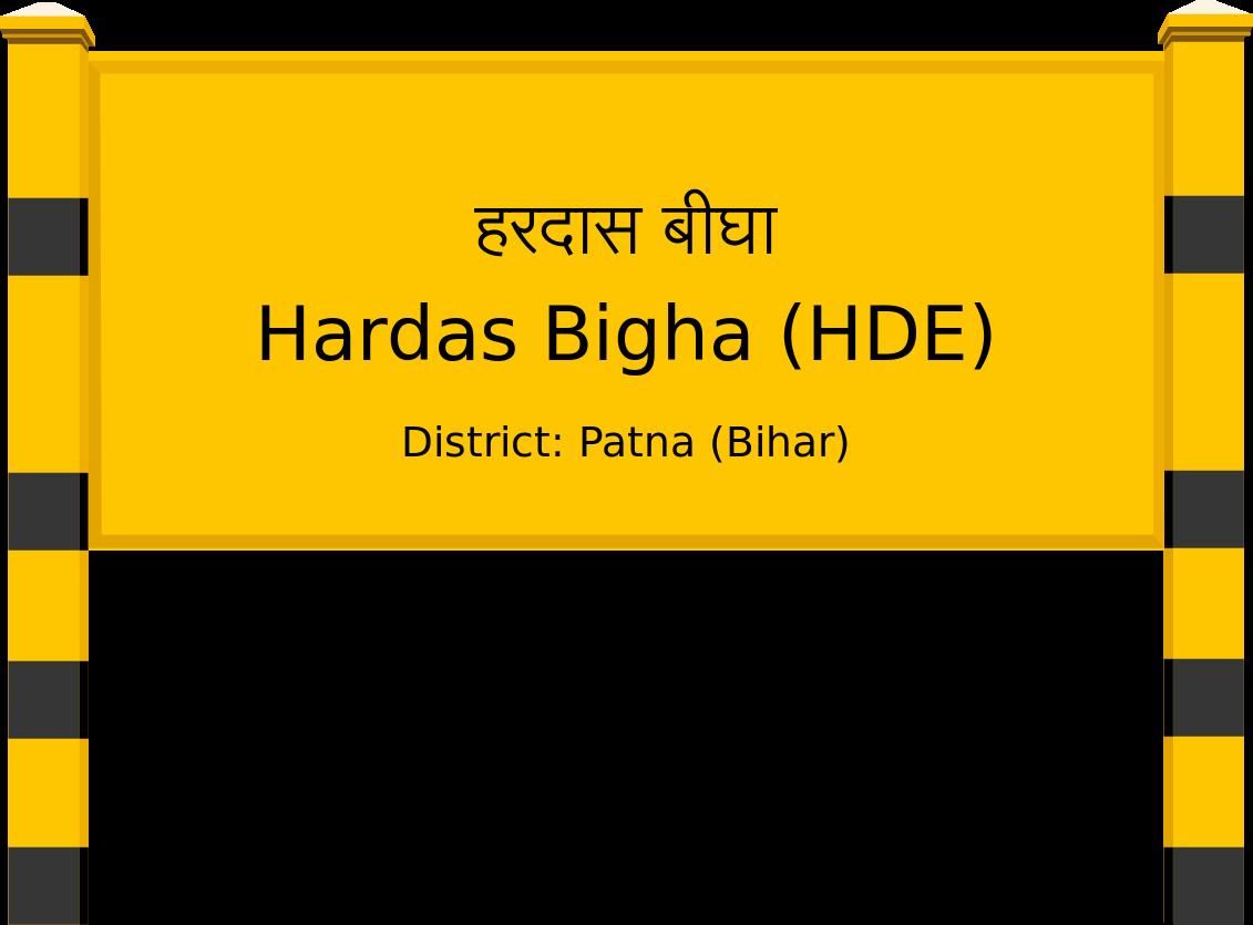 Hardas Bigha (HDE) Railway Station