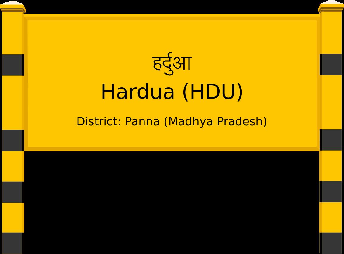 Hardua (HDU) Railway Station