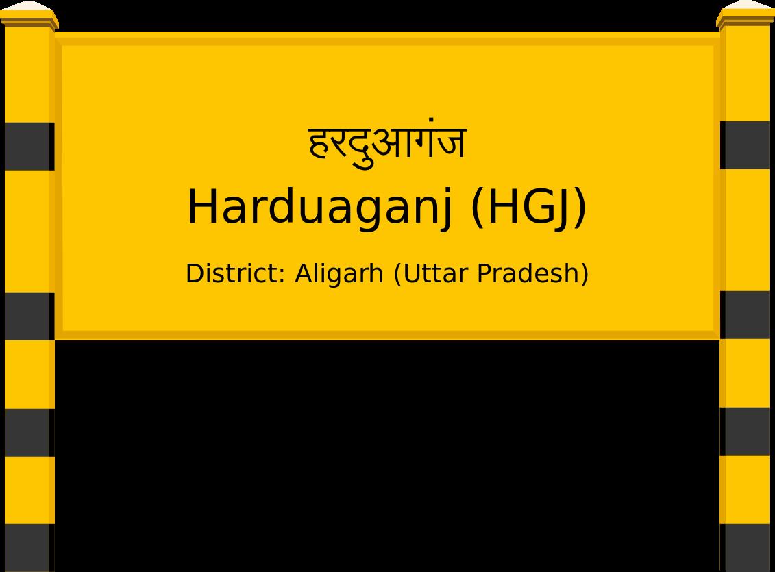 Harduaganj (HGJ) Railway Station