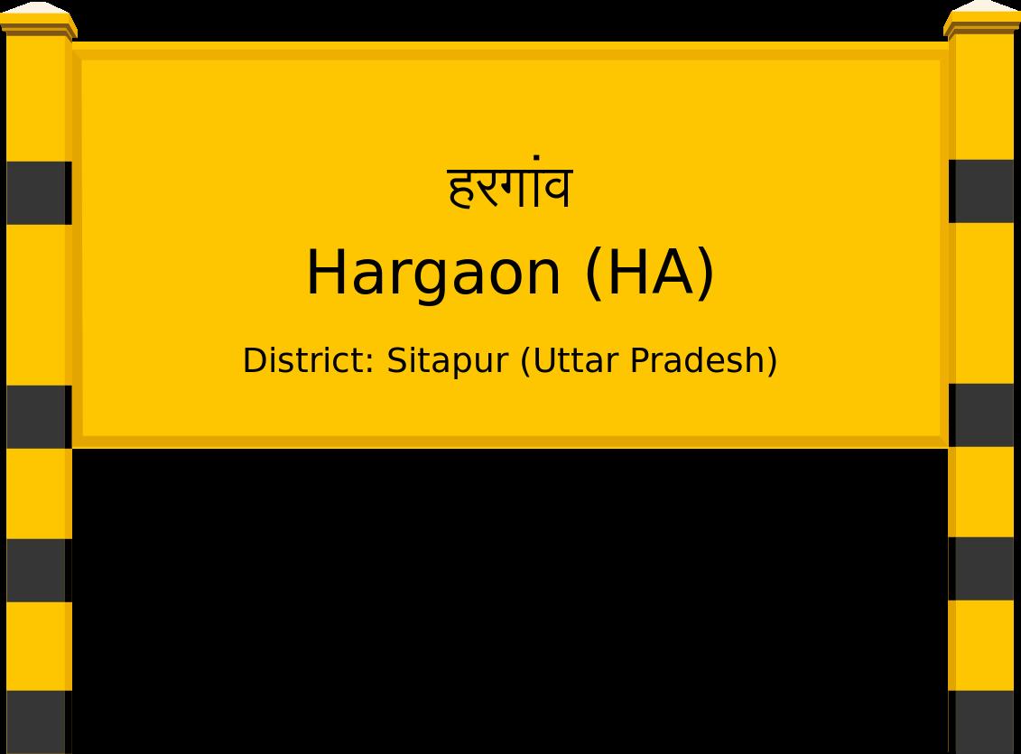 Hargaon (HA) Railway Station