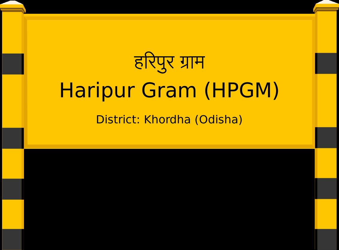 Haripur Gram (HPGM) Railway Station