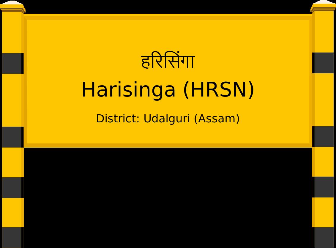 Harisinga (HRSN) Railway Station