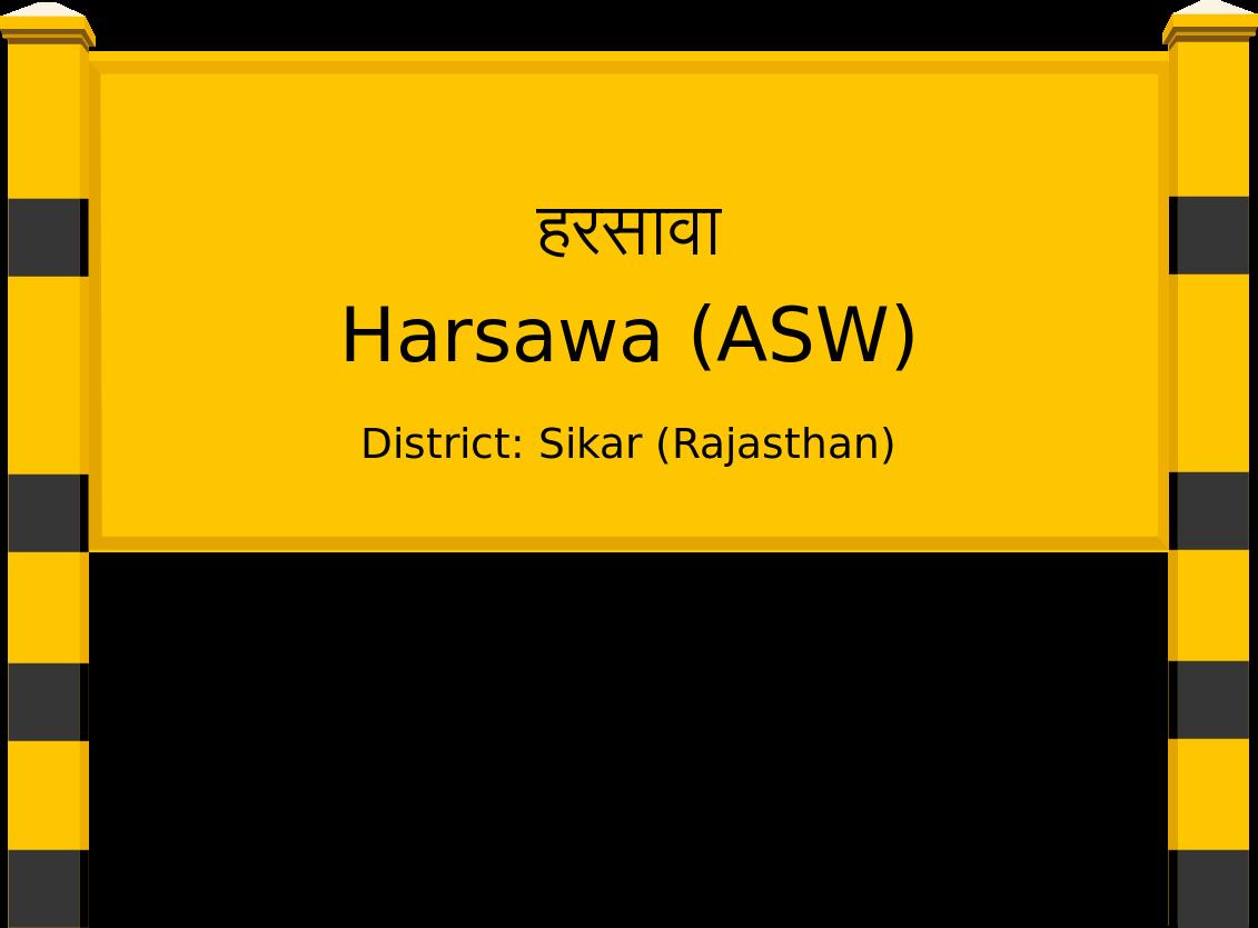 Harsawa (ASW) Railway Station